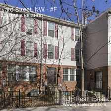Rental info for 1105 Harvard Street, NW in the Columbia Heights area