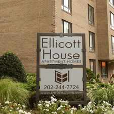 Rental info for Ellicott House in the Washington D.C. area