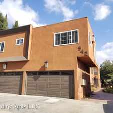 Rental info for 938 N. Spaulding Ave. in the Los Angeles area