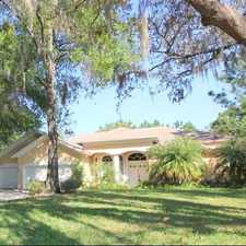 Rental info for Gorgeous Lakefront 4BR/3BA Pool Home! in the Tampa area