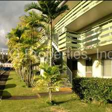 Rental info for RENT READY Punahou/Moilili Convenient cute 2bed 1bath 1pkg in town in the Honolulu area
