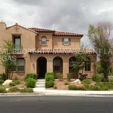 Rental info for GORGEOUS 3BD/2.5BA TWO STORY HOME IN HENDERSON IS A MUST SEE in the Henderson area