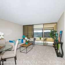 Rental info for 1717 Mott-Smith Dr. Apt. 2708 in the Honolulu area
