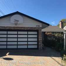 Rental info for 178 Myrtle Street in the 94061 area