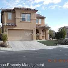 Rental info for 6568 Bared Eagle Place in the North Las Vegas area