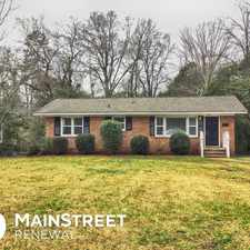 Rental info for 4714 Hidden Valley Road in the Charlotte area