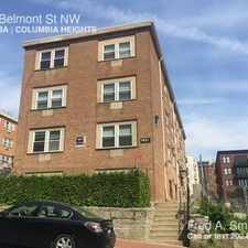 Rental info for 1421 Belmont St NW in the Columbia Heights area