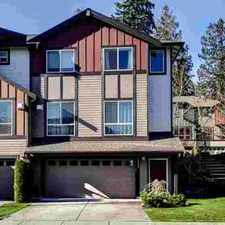 Rental info for 16502 1st Park SE Bothell, Welcome home to your 3