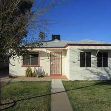 Rental info for Cozy 2x1 Home In Tolleson.
