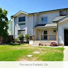 Rental info for 3 Bedrooms - Beautiful 2 Story House With Hardw... in the Fairfield area