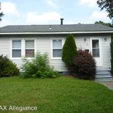 Rental info for 39 GROVE STREET in the Chesapeake area