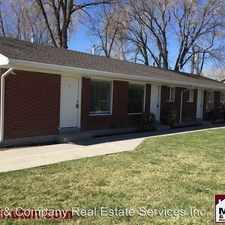 Rental info for 333 E. Lambourne Ave. (3140 S.) #2 in the Salt Lake City area