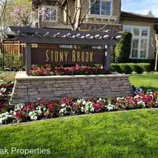 Rental info for 1043 River Rock Lane in the 94526 area
