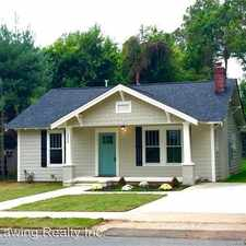 Rental info for 1324 E. 35th Street in the Charlotte area