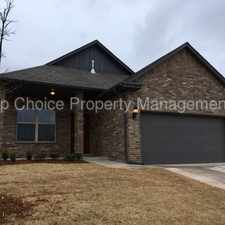 Rental info for NEW CONSTRUCTION * 3 BED 2 BATH * DEER CREEK SCHOOLS in the Oklahoma City area