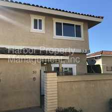 Rental info for Beautiful 2 Bedroom 2.5 Bathroom Town-Home in the Los Angeles area
