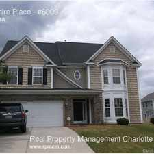 Rental info for Lillyshire Place in the Charlotte area