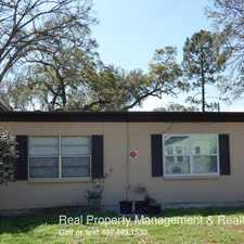 Rental info for 1804 E. Harding St. in the Orlando area