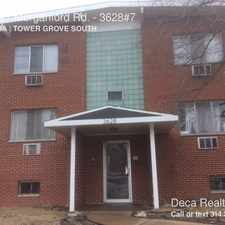 Rental info for 3628 #7 Morganford Rd. in the St. Louis area