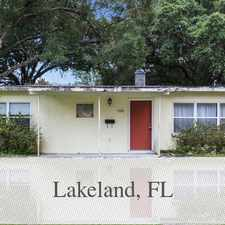 Rental info for 3 Spacious BR In Lakeland. Pet OK! in the Lake Hollingsworth area