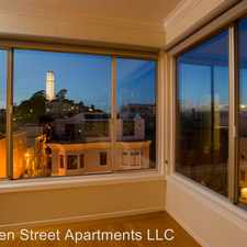 Rental info for 345 Green St. Apt. 6 in the San Francisco area