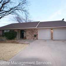 Rental info for 5723 35th St in the Lubbock area