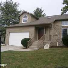 Rental info for 11528 E. 75th Street in the Indianapolis area