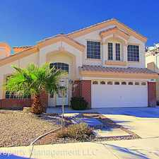 Rental info for 3843 Ruckman Ave in the Las Vegas area