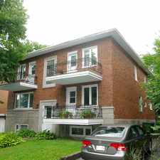 Rental info for 981 Avenue Sir Adolphe Routhier #981-1A