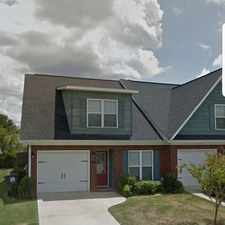Rental info for 956 Bryan Circle in the Augusta-Richmond County area
