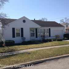 Rental info for 117 Lester Ave. in the Findlay area