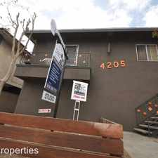 Rental info for 4201-05 Arch Drive in the Los Angeles area