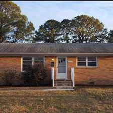 Rental info for 4013 Threechopt Rd in the Newport News area