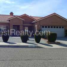 Rental info for Beautiful 3 Bed, 2 Bath North Victorville Home!!!