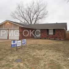 Rental info for 4909 Cinderella Drive in the Oklahoma City area