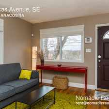 Rental info for 4513 Texas Avenue, SE in the Fort Dupont area