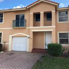 Rental info for 16102 NW 22nd St in the Pembroke Pines area