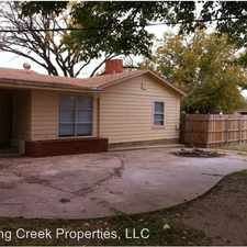Rental info for 3802 29th Street in the Lubbock area