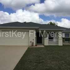 Rental info for 223 Northeast 30th Terrace in the Cape Coral area