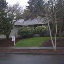 Rental info for 9635 SW Robbins Drive in the Portland area
