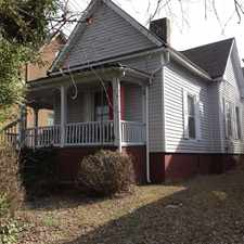 Rental info for 2BR House In Fort Sanders in the Knoxville area