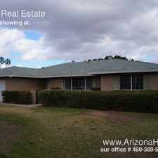 Rental info for 738 E Manhatton Dr in the Tempe area