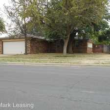 Rental info for 2117 75th Street in the Lubbock area