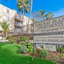Rental info for Parkway Plaza Apartments in the Culver City area
