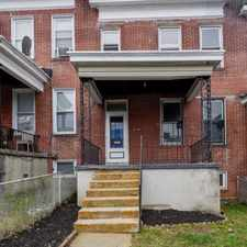 Rental info for 784 Linnard Street in the Baltimore area