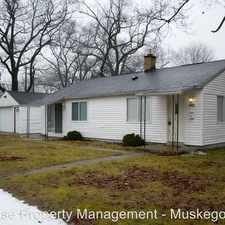 Rental info for 1232 Burton Road in the Muskegon area