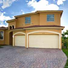 Rental info for 2390 Southwest 130th Terrace in the Miramar area