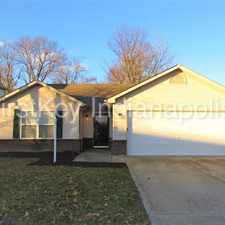Rental info for 11126 Waterfield Lane in the Indianapolis area
