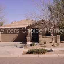 Rental info for Perfect at Villages at Queen Creek