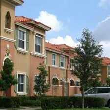 Rental info for 753 Southwest 107th Avenue in the Pembroke Pines area